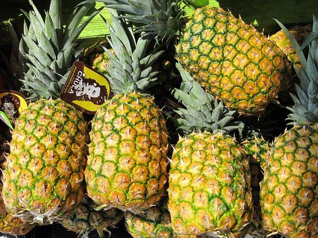 ananasová dieta foto