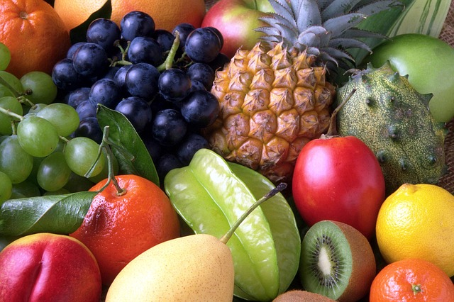 detox - ovoce